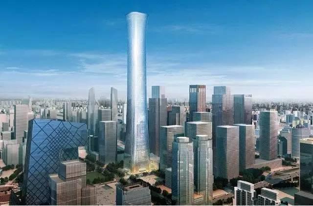 528米!108层!北京第一高楼中国尊设计、施工全方位超详解析!