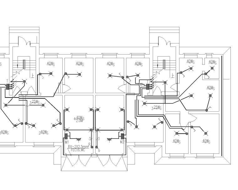 大型住宅电气全套(含电话设计说明和有线宽带设计说明)