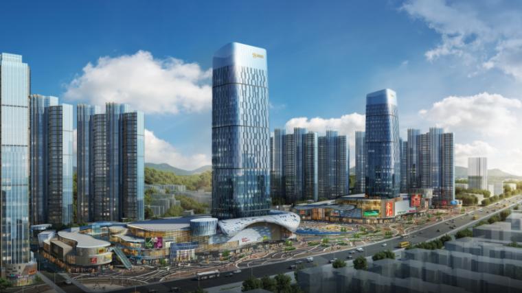 [湖北]超高层娱乐百货商业中心建筑设计方案文本(含CAD)_4