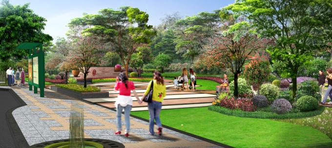 """[广东]""""源代码""""科技创意生态道路景观改造设计方案_4"""
