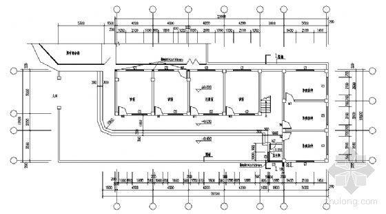 永春县某三层医院门诊综合楼建筑结构设计图-3