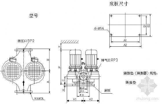 各种水泵安装样图