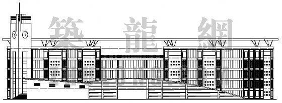 某交通学校建筑施工图纸(全套)