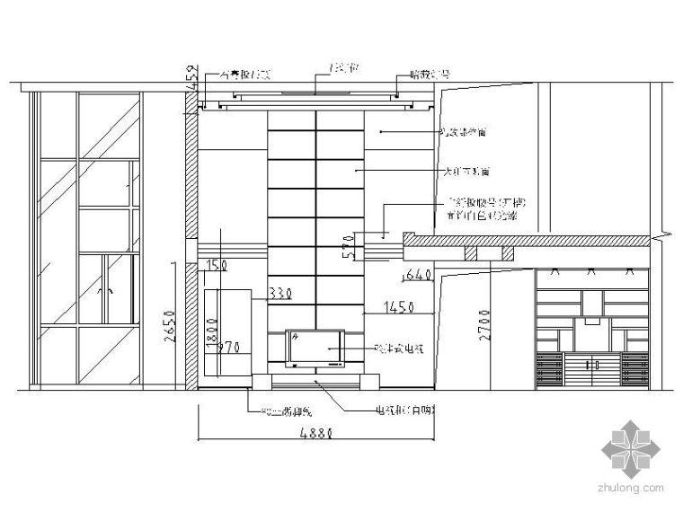 [成都]某军职楼跃层设计方案图_2