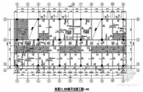 框架结构综合楼结构施工图(七层 独立基础)
