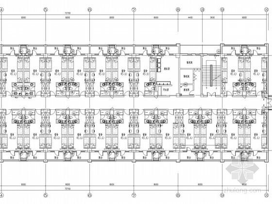 [北京]物流快递运营中心采暖通风排烟系统设计施工图