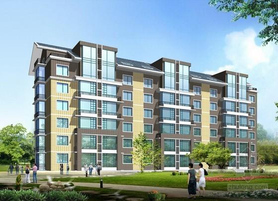 [青岛]住宅楼建设项目投标报价书(全套报表)