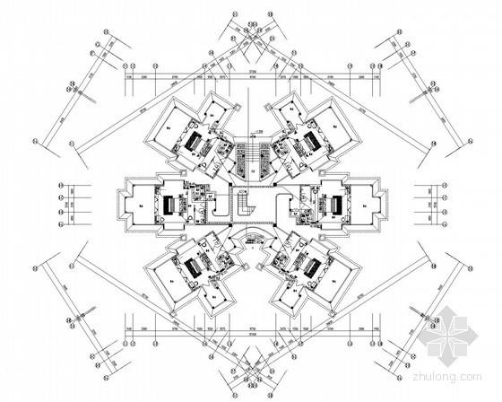 [海南]2栋多层员工宿舍楼及食堂全套电气施工图纸44张