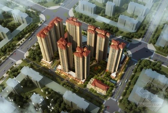 [深圳]西班牙风格高层住宅小区规划设计方案文本