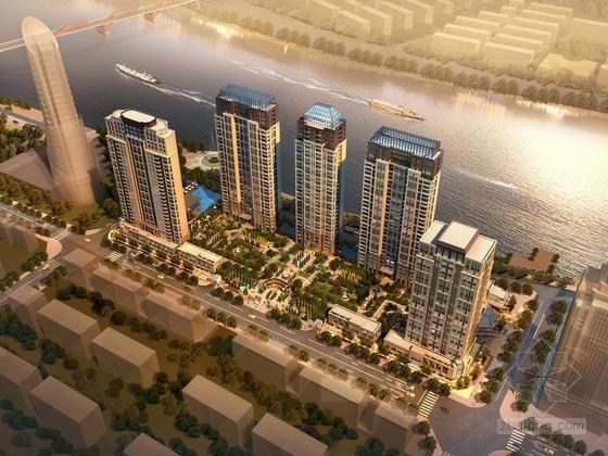 [浙江]滨海新区城市综合体设计方案文本(129张设计图 知名事务所)