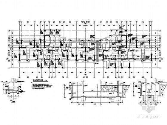 [合肥]24层剪力墙高层住宅楼建筑结构施工图