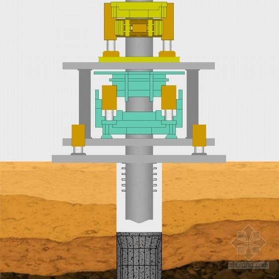 [天津]地铁深基坑围护结构钢管柱及格构柱桩专项施工方案