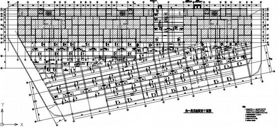 大型商场地下人防结构施工图