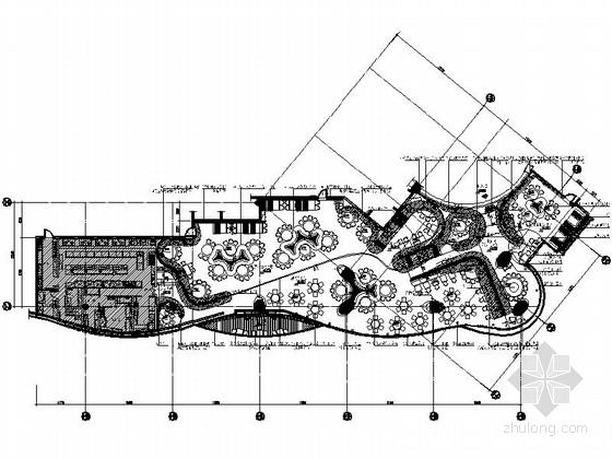 [杭州]风格迥异现代主题餐厅装修图(含效果实景)