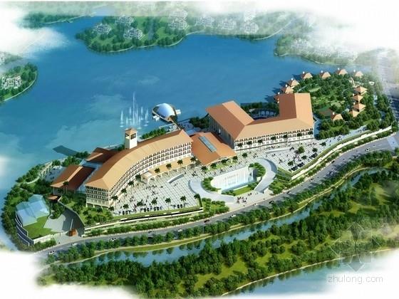 [安徽]新中式风格五星级度假酒店设计方案文本(含CAD)