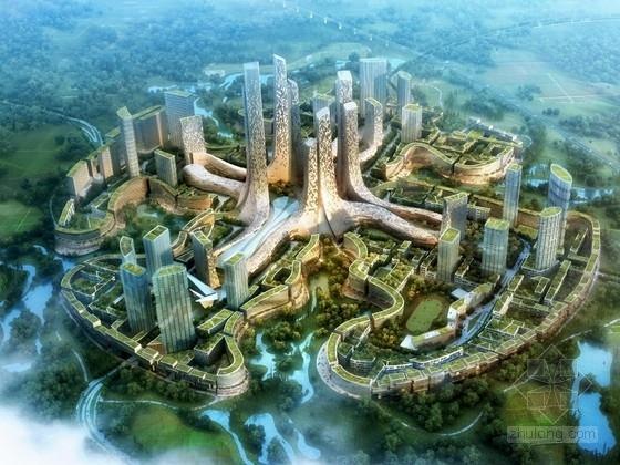 [成都]大型城市综合体规划设计方案文本