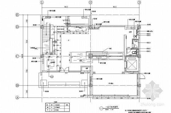 [北京]原创国家级紫砂艺术研究院高档办公楼装修施工图(含效果及水电图)