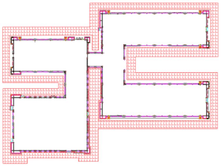 敦煌国际酒店幕墙工程6#楼脚手架方案