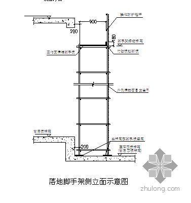 北京某高层酒店外脚手架施工方案(有计算)