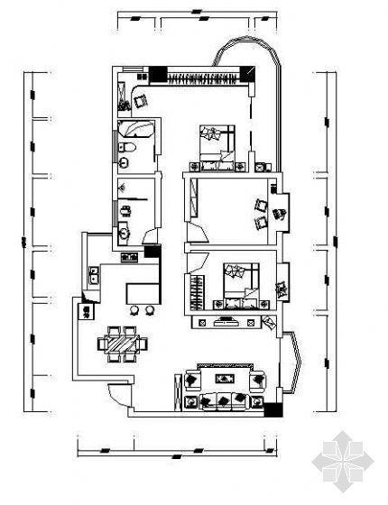三室两厅装修设计