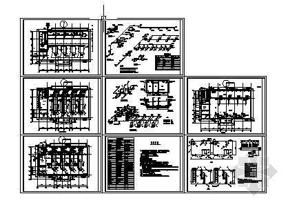某蒸汽锅炉房平面图