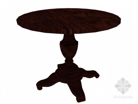 圆桌3D模型下载