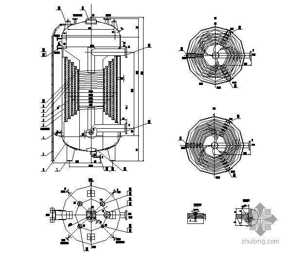 蒸汽发生器大样图及过程设备强度计算书