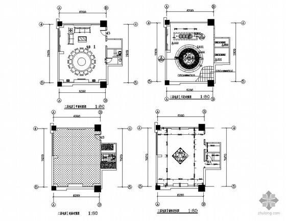 某大酒店包厢装饰设计图