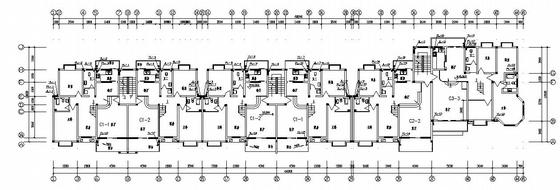 某六层住宅给排水消防设计图