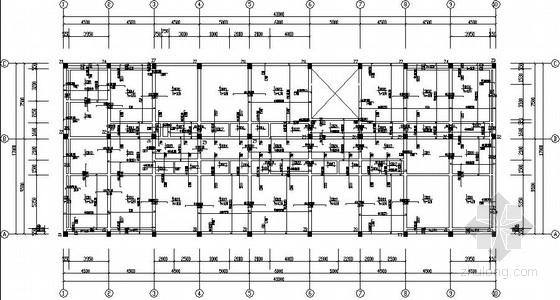 7度区四层框架结构中学教学楼结构施工图(独立基础)