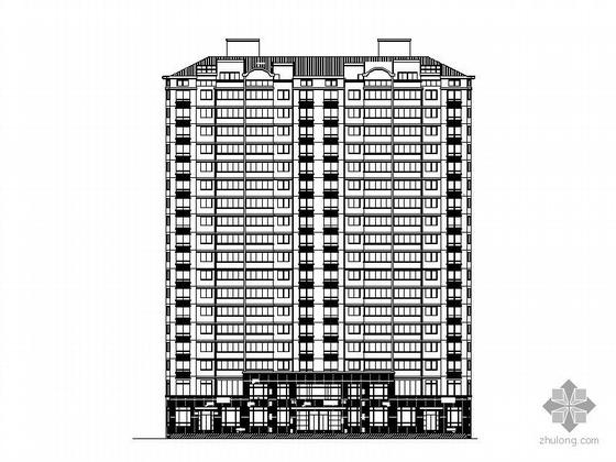 某十八层底商住宅楼建筑施工图