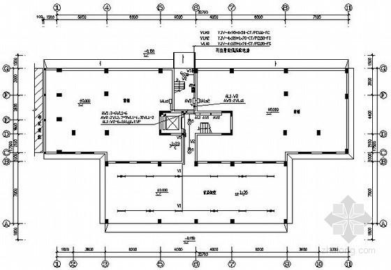 十层商住楼电气施工图纸