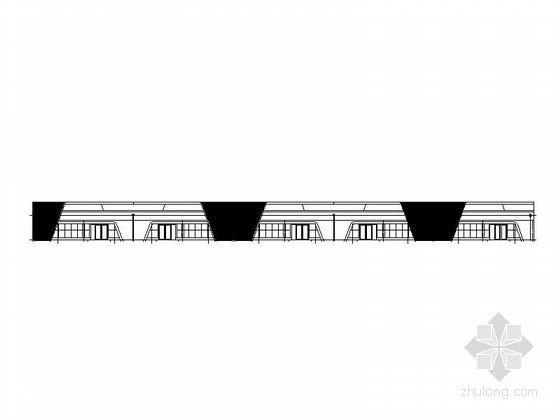 [哈尔滨]某汽车交易场B1品牌二手店建筑方案图