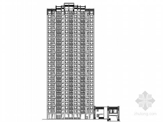 某二十八层商住楼建筑设计方案图