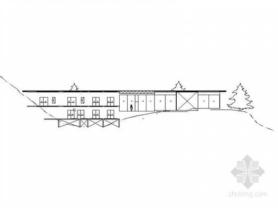 隈研吾竹屋建筑方案图(含实景照片)