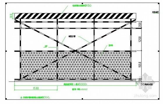 [安徽]高层办公楼钢管落地、型钢悬挑脚手架施工方案