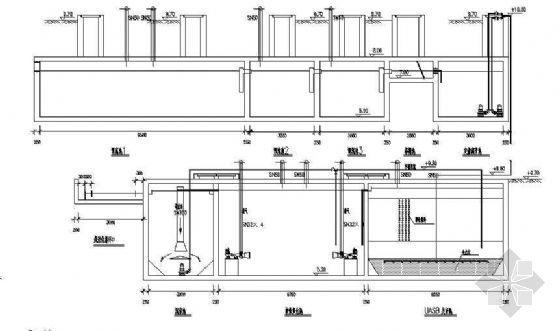uasb处理工艺图资料下载-某别墅生活污水处理成套图