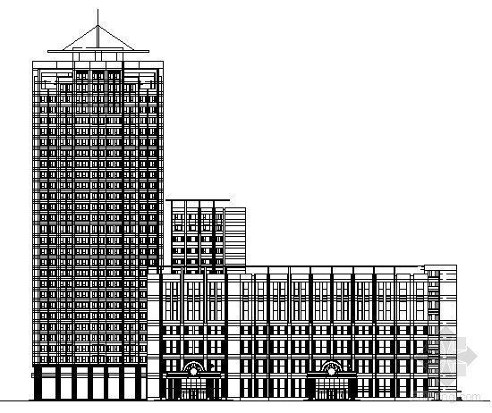 长春市京都洗浴中心建筑施工图