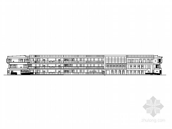 [广东]3层现代风格幼儿园建筑施工图(优秀设计方案 知名设计院)