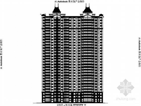 [江西]30层框剪结构商业办公建筑设计施工图(知名地产)