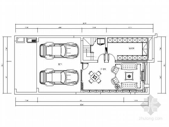 [原创]欧式风格三层别墅施工图