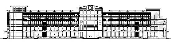 某四层大型商场建筑设计施工图
