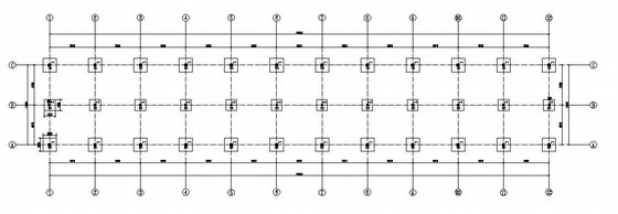 混凝土排架仓库结构施工图(原创)