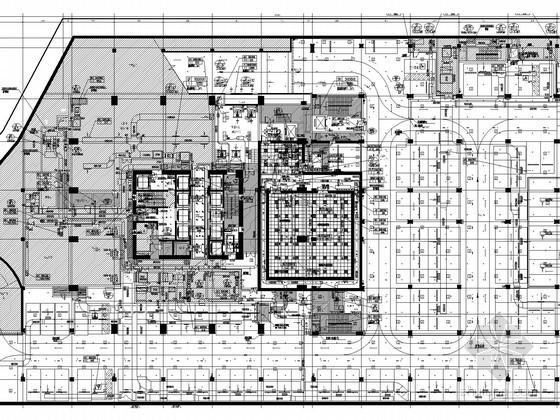 [浙江]高层办公楼空调通风排烟系统末端调整设计施工图(二次装修阶段)