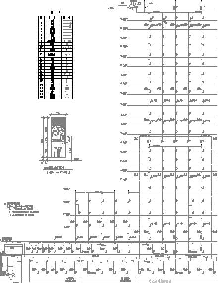 某23层高层办公楼给排水全套图纸_7