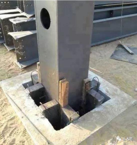 钢柱可以直接插入预制基础了!
