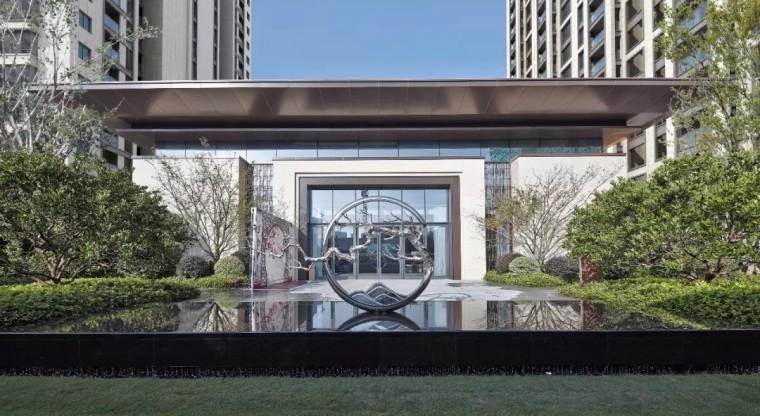 观棠府现代商业展示景观
