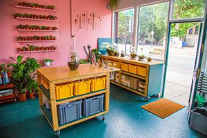 花店装修注意事项及设计布局,让店内环境更加温馨!