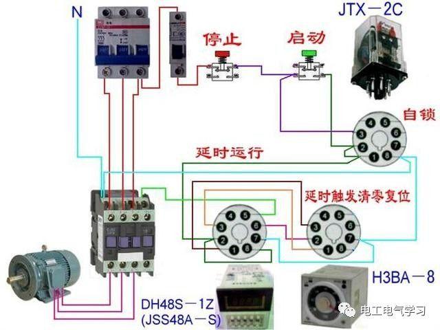 【电工必备】开关照明电机断路器接线图大全非常值得收藏!_87