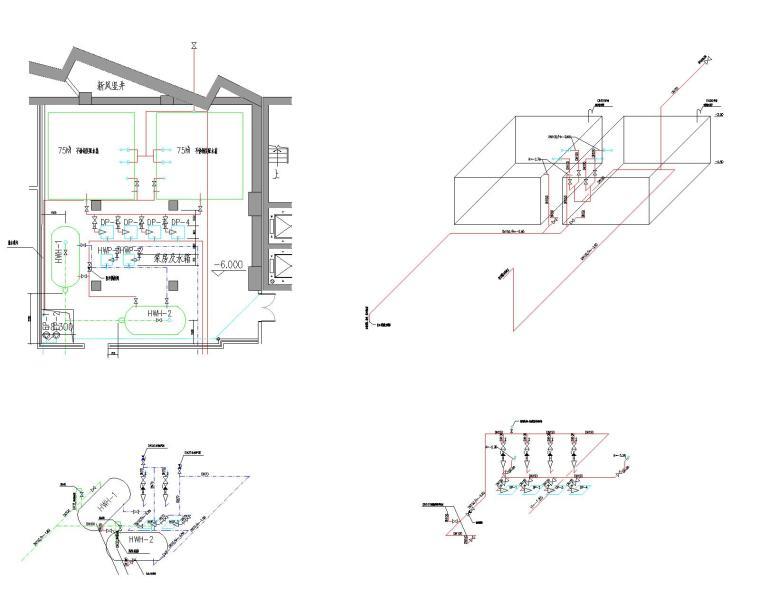 [浙江]温州大剧院给排水设计全套图纸(变频供水方式)